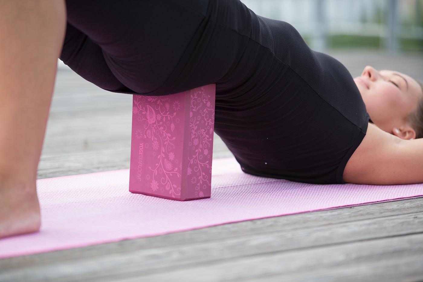 Yogablock yogiblock® big - indian flower