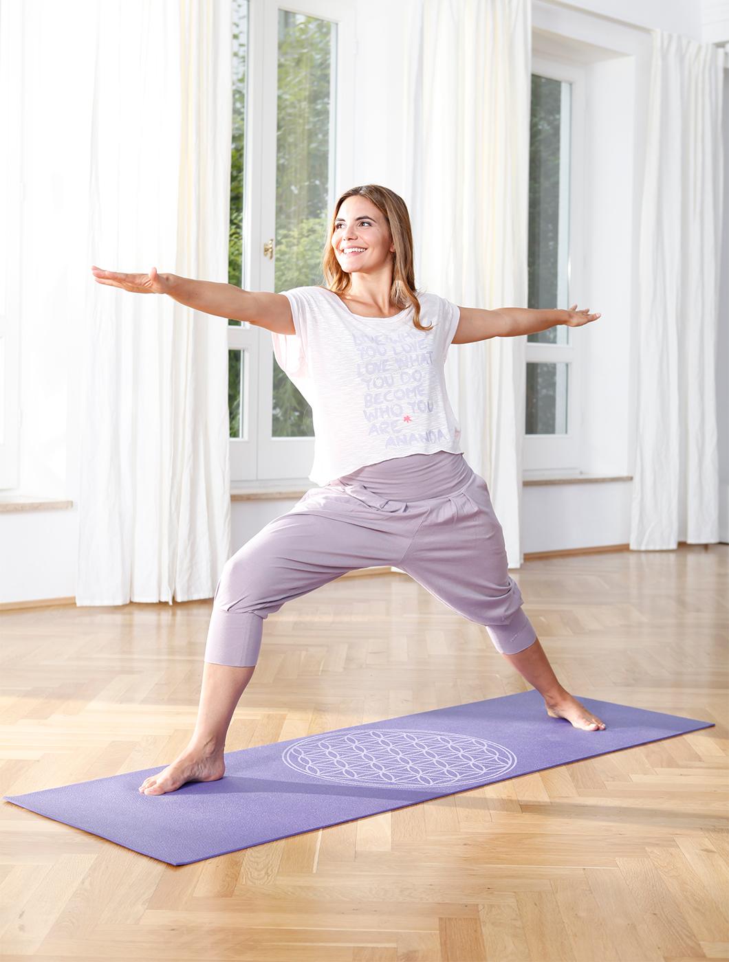 Yogamatte yogimat® basic - flower of life