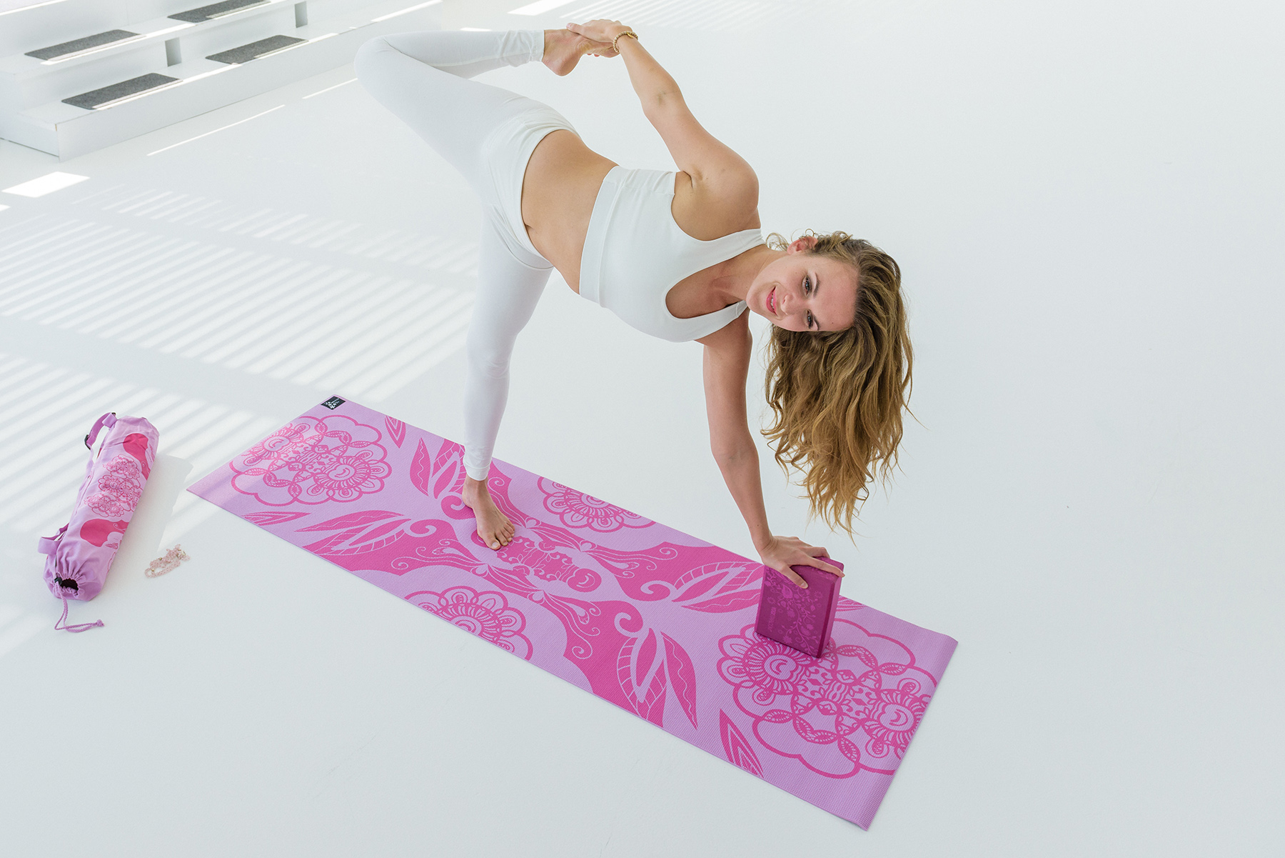 Yogamatte basic art collection